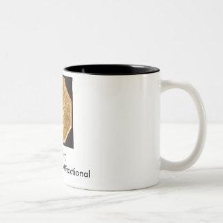 BG-530, California Gold Fractional Two-Tone Coffee Mug