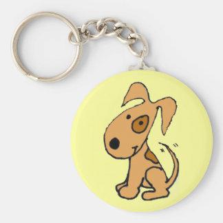 BG- Cute wagging dog key chain