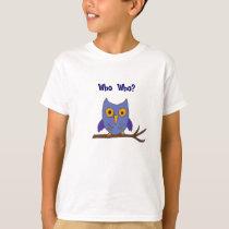 BG- Funny Who Owl Cartoon Shirt