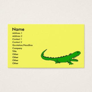 BG- Gator business cards