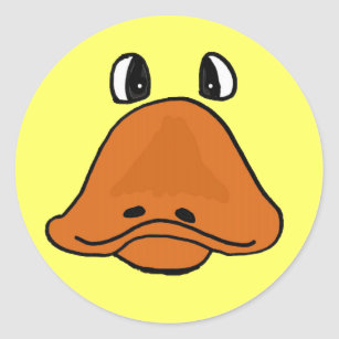 cartoon duck face craft supplies zazzle rh zazzle com animated duck face cartoon duck face images