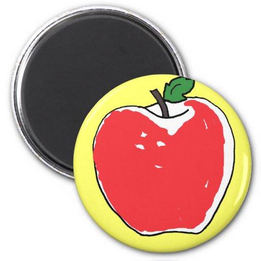 BG imán del dibujo animado de Apple