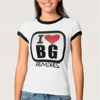 BG REMIXES LOGO BABY TEE FOR GIRLS