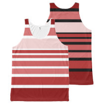 BG Stripes Pattern colored VIII   your back & idea All-Over-Print Tank Top