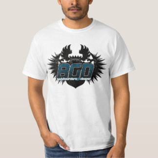 BGD Shield - Bodyboarders Go Deeper T-Shirt