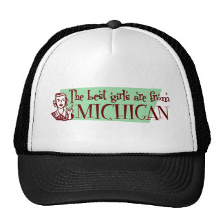 BGMICHIGAN TRUCKER HAT