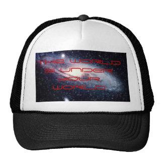 bgp, the world is under your brain, the world i... trucker hat