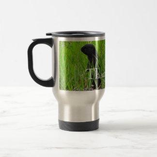 BGRO Black Ground Squirrel Travel Mug