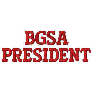 BGSA President Embroidered Shirt