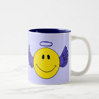 BH- Angel Smiley Face Mug