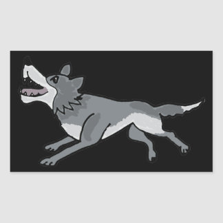 BH- Awesome Wolf Sticker