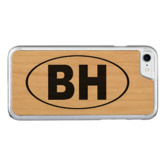 BH Beverly Hills California Carved iPhone 8/7 Case