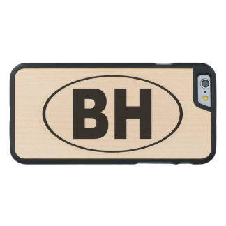 BH Beverly Hills California Carved Maple iPhone 6 Slim Case