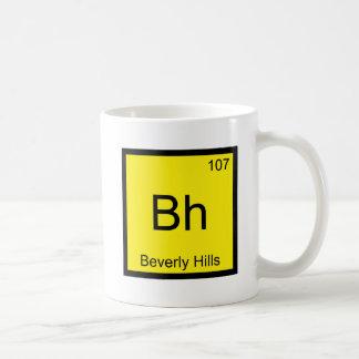 Bh - Beverly Hills Chemistry Element Symbol Funny Coffee Mug
