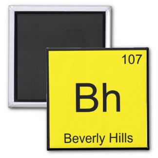 Bh - Beverly Hills Chemistry Element Symbol Funny Fridge Magnet