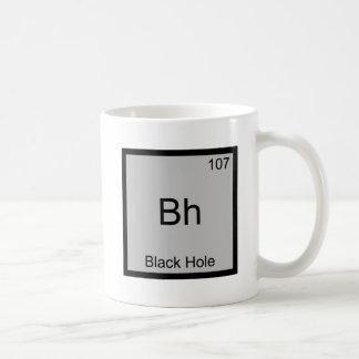 Bh - Black Hole Funny Chemistry Element Symbol Tee Coffee Mug