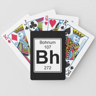 BH - Bohrium Baraja Cartas De Poker