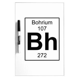 BH - Bohrium Pizarra Blanca