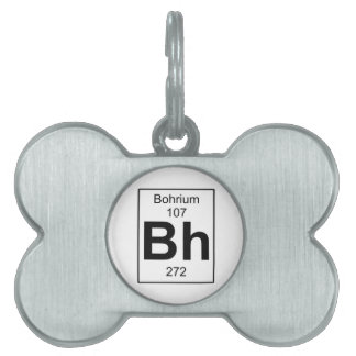 BH - Bohrium Placa De Mascota