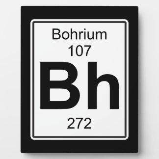 BH - Bohrium Placas Para Mostrar