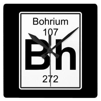 BH - Bohrium Reloj Cuadrado