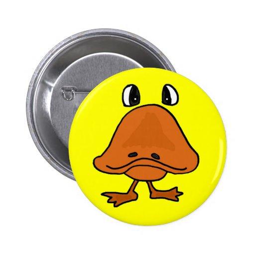 BH- Duck bill cartoon button