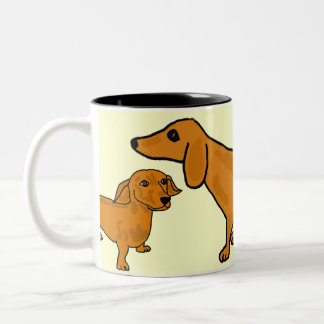 BH- Funny Dachshund Mug
