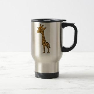 BH- Funny Giraffe travel Mug