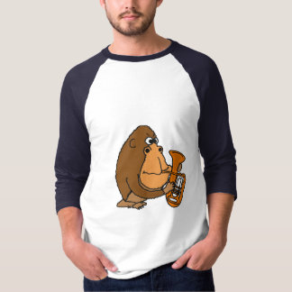BH- Funny Gorilla Playing the Saxophone Shirt
