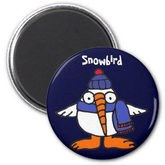 BH- Funny Snowbird Magnet