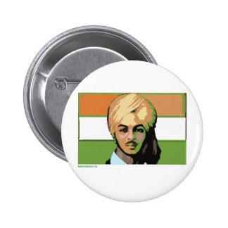 Bhagat Singh: A Revolutionary Hero Pinback Button