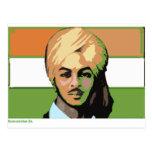 Bhagat Singh: Un héroe revolucionario Tarjetas Postales