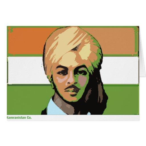 Bhagat Singh: Un héroe revolucionario Tarjetón