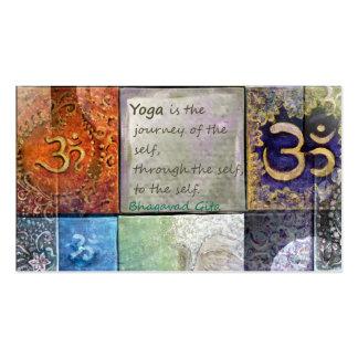 Bhagavad Gita Quote Business Card