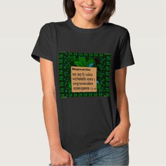 BHAGWAT GEETA Sloka Ch 4/7 Incarnation revealed T-shirts