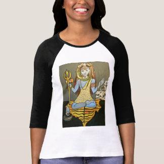 Bhairava Shiva Tee Shirt by Electricity7