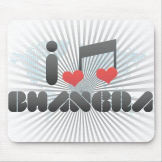 Bhangra fan mouse pad