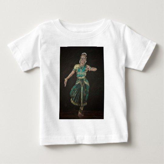 Bharatanatyam Dancer Baby T-Shirt