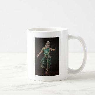 Bharatanatyam Dancer Classic White Coffee Mug