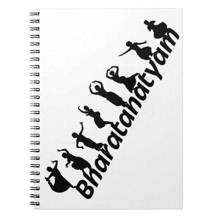Bharatanatyam Notebook Zazzle Com