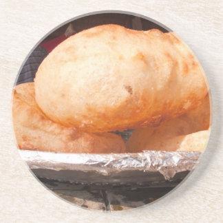 Bhatura - bocado indio sabroso posavasos manualidades