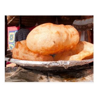 Bhatura - Tasty Indian snack Postcard
