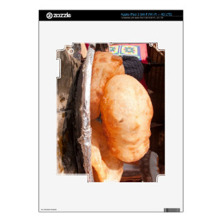 Bhatura - Tasty Indian snack Skin For iPad 3