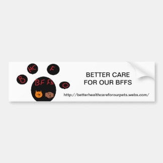 bhcfobff car bumper sticker