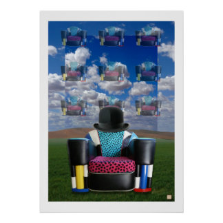BHD-Magritte-Print Poster