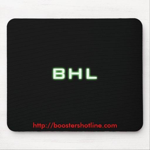 BHL , http://boostershotline.com Mousepad
