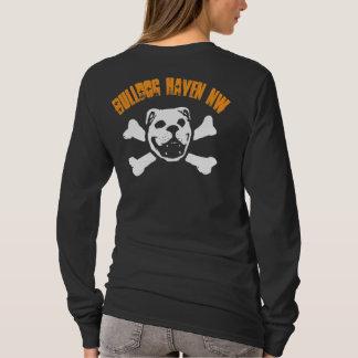 BHNW + Bulldog Skull (orange for dark) T-Shirt