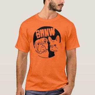 BHNW's 2013 English & French Bulldog design -black T-Shirt