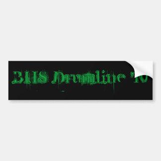 BHS Drumline '10 Pegatina Para Auto