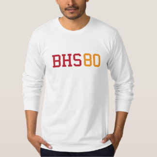 BHS TEXT RED & GOLD T-Shirt